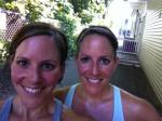 Sweaty sister runs (and many many with M!), how I love thee.