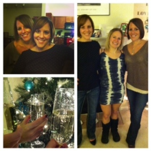 Celebrating Christmas bestie-style. A long time coming!
