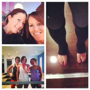 The holidays wouldn't even be complete without some fitdates with besties and my 'kindred' Meaghan, and lots and lots of barre n9ne action!