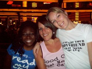 BISC 2010 - blast from the past, much? Akirah, Shannon, and me!