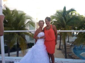 Meeting Shannon first at BISC in 2010 (??) to being honored to attend her wedding in October 2012 in Playa del Carmen. Love you friend!