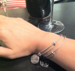 'sisters' and 'love' bracelet...something new.
